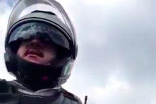 """Agente de tránsito pide """"mordida"""" en operativo[VIDEO]"""