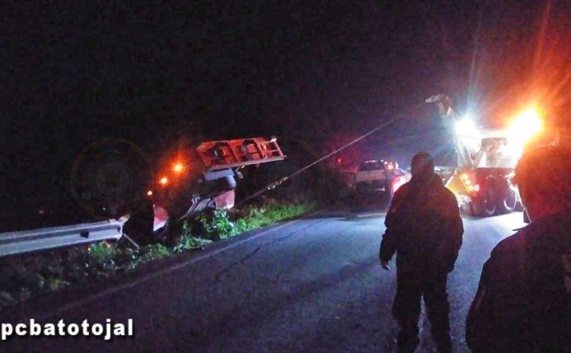 Semana de choques en la carretera deAtotonilco