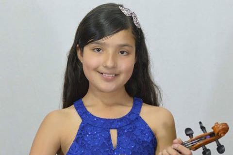 Camila Mora triunfa con el violín a nivelnacional