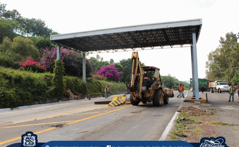 Retiran casetas de cobro en Valle de Guadalupe yOjuelos