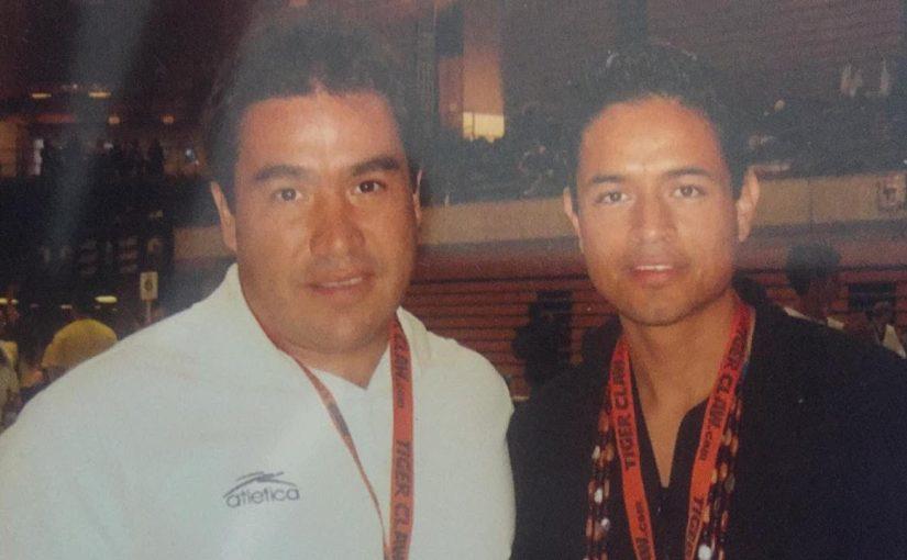 Emilio Rodríguez el caricaturista, pionero del Taekwondo enTepa
