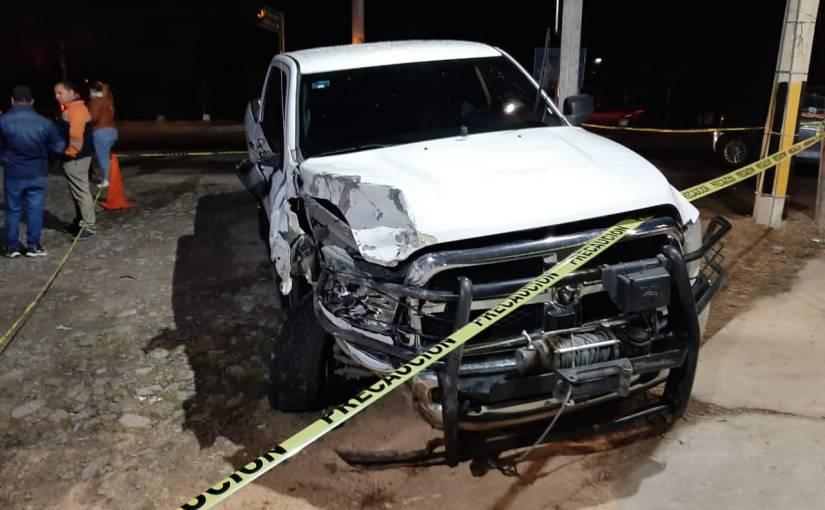 Elemento de la Fiscalía borracho chocó a 3 vehículos. Una mujermurió.