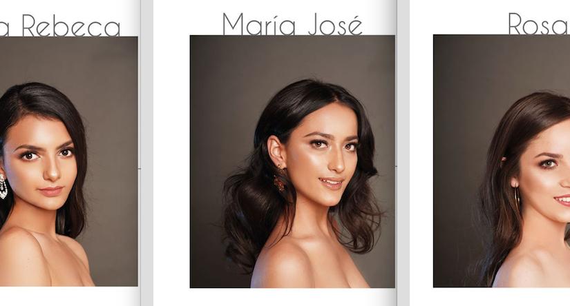 Listas las candidatas a SeñoritaAcatic